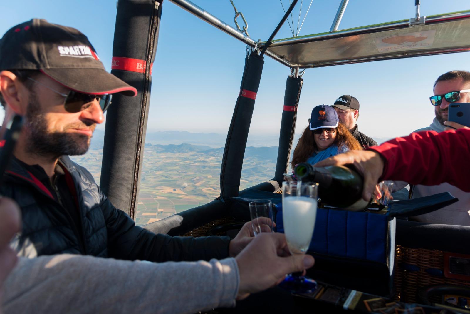 La experiencia de subir en globo es muy recomendable