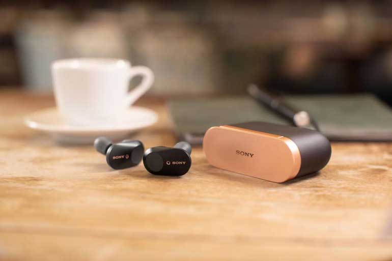 Los auriculares WF-1000XM3 de Sony tienen una autonomía de 24 horas con la función cancelación de ruido