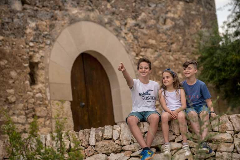 Los niños son felices en Vila-seca