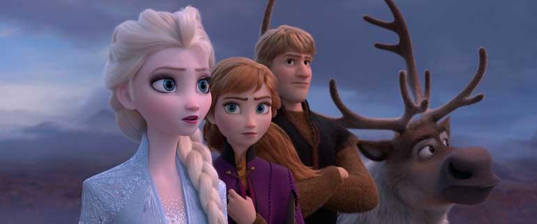 Fotograma de Frozen 2, ambientada en Noruega