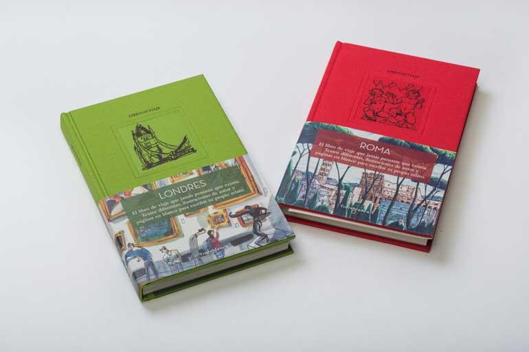 Guías Tintablanca Londres y Roma