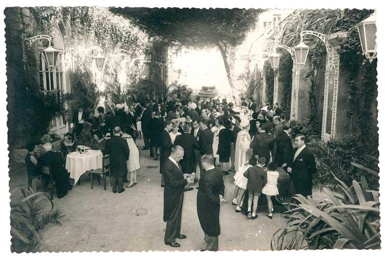 Una de las imágenes que ilustran el libro Del Ritz a El Palace