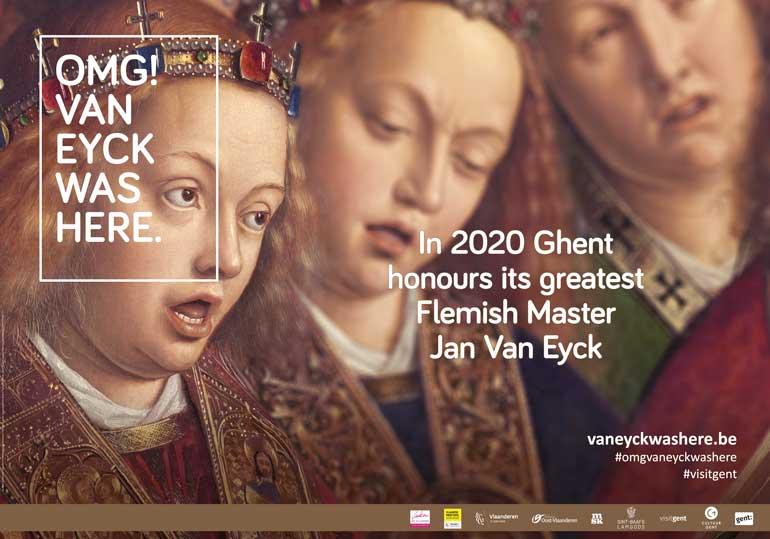 Exposición OMG! Van Eyck was here.