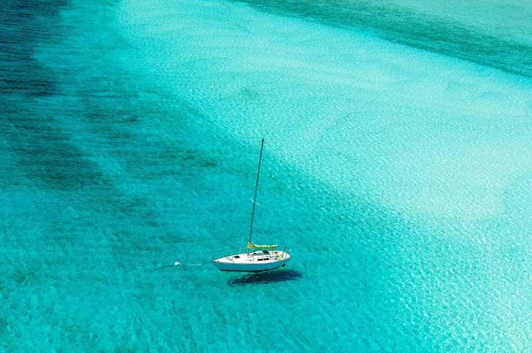 Las Bahamas cuenta con unas aguas cristalinas maravillosas
