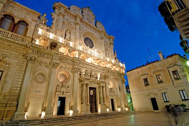 Basílica de la Santa Cruz de Lecce. Foto Vittorio Gianella