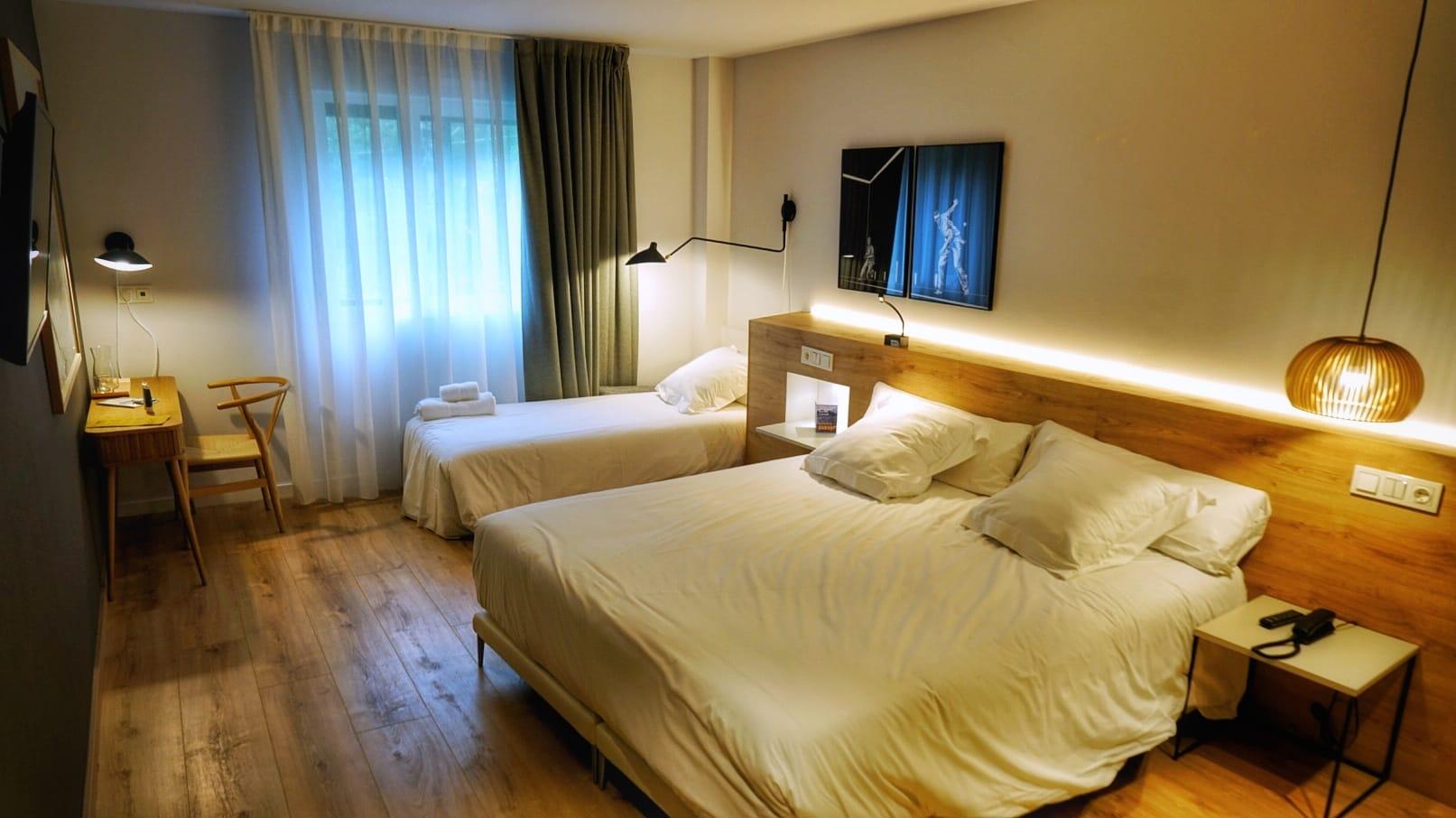 Habitación familiar Hotel Bide Bide de Tolosa