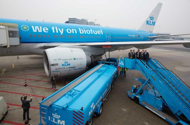 La visión de sostenibilidad de KLM también se ha aplicado en la política laboral de la compañía aérea.