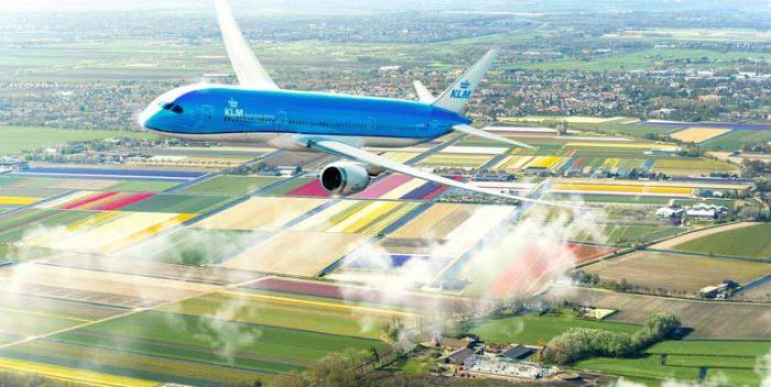 imagen Fly Responsibly, compromiso de KLM…
