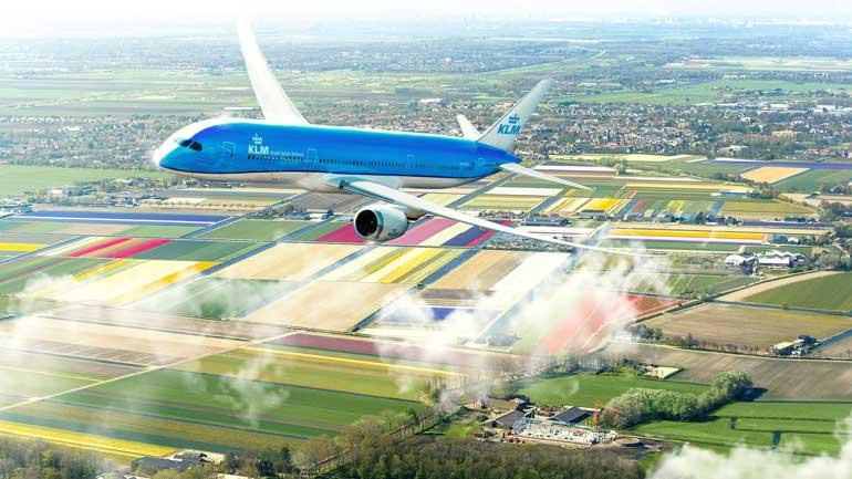 KLM vuela sostenible