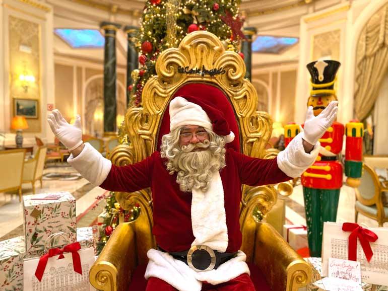 Papa Noel en El Palace Barcelona