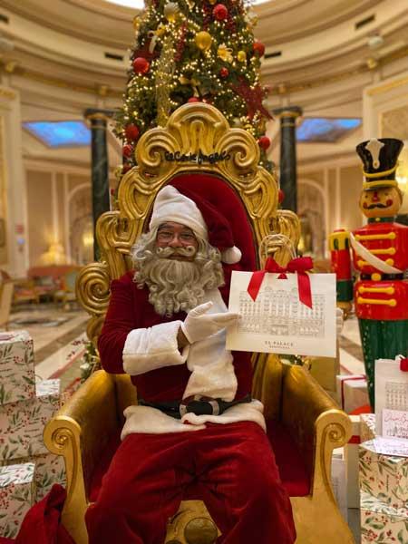 Papa Noel en El Palace