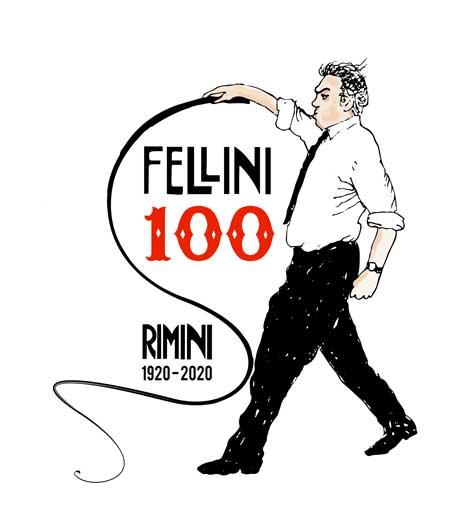Logotipo del Centenario de Fellini