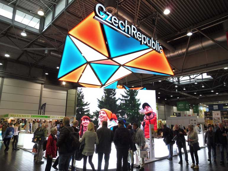 Stand de República Checa en Fitur 2020