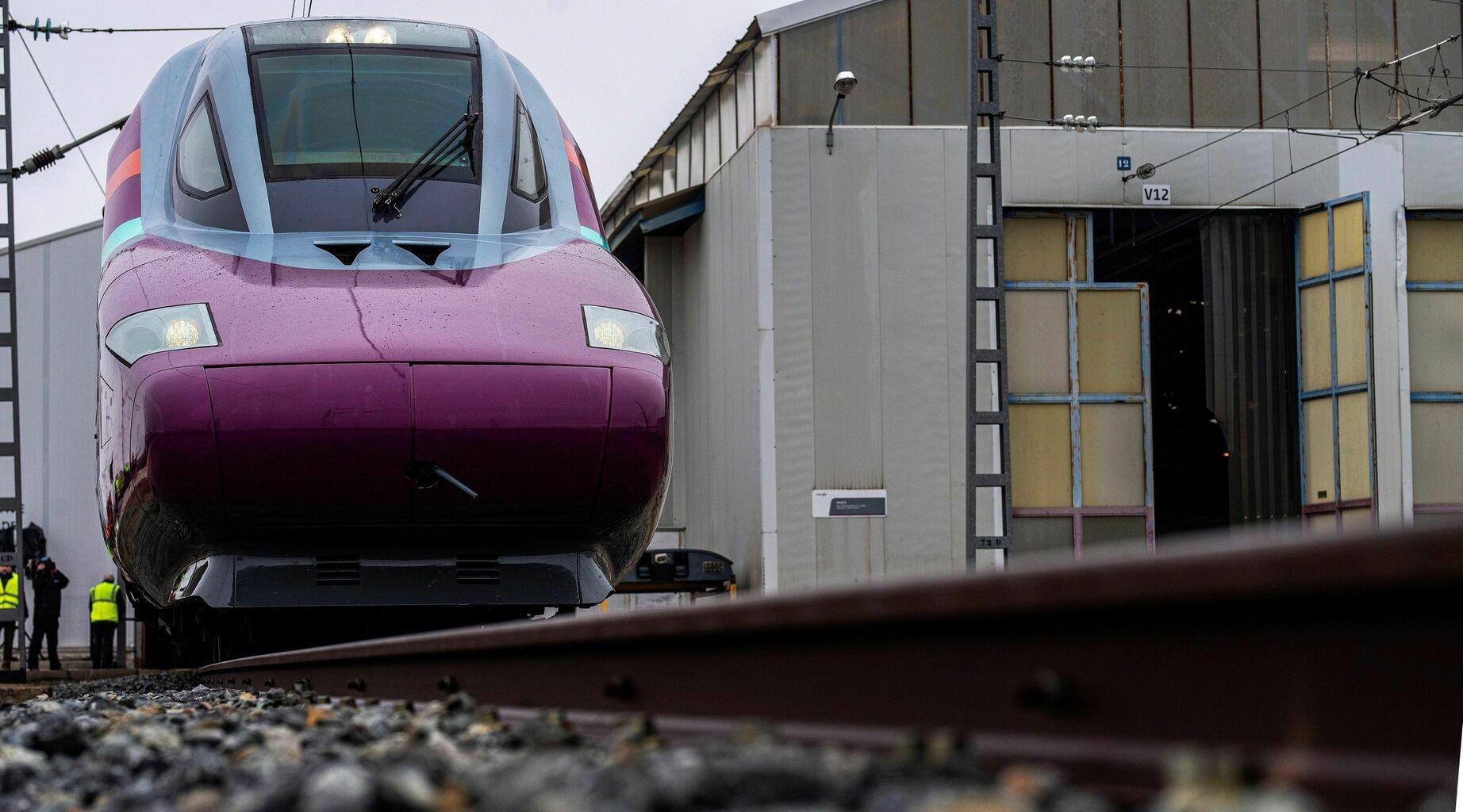 Frontal locomotora de Avlo