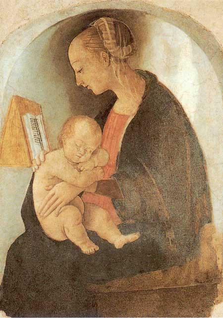 Virgen con el niño de Rafael