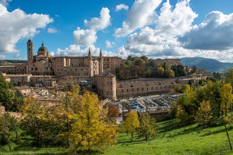 Panorámica de Urbino
