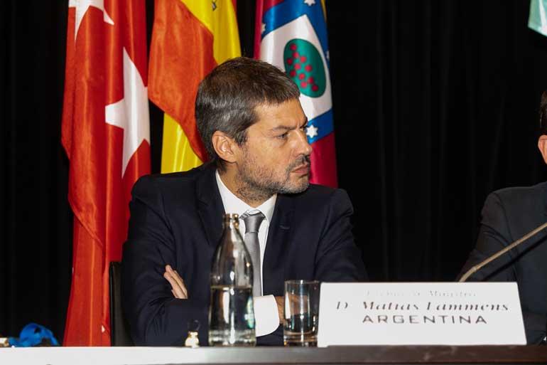 Ministro de Turismo y Deportes de Argentina, Matías Lammens