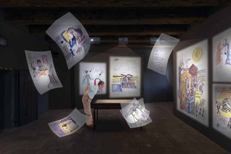 Libro de los sueños. Museo Internacional Federico Fellini