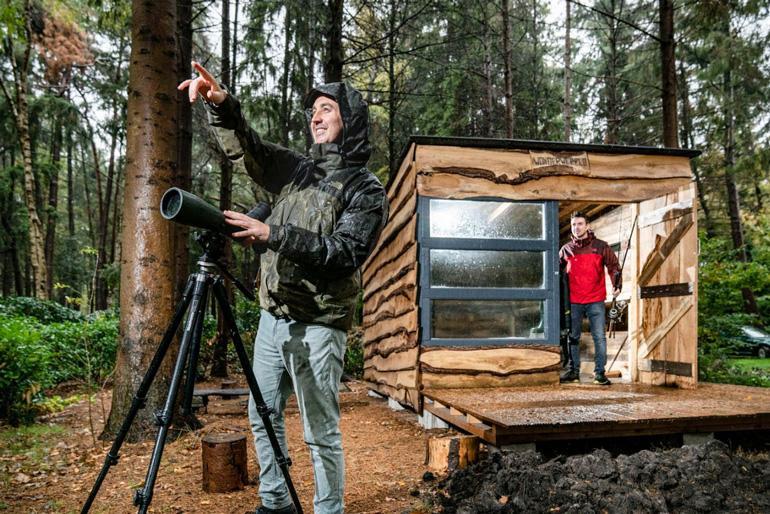 Los dos hermanos fundadores de Nature.house, Tim y Luuk van Oerle, son apasionados de la ornitología