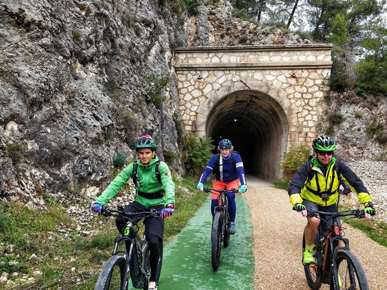 Alcoi es un municipio perfecto para la práctica del cicloturismo