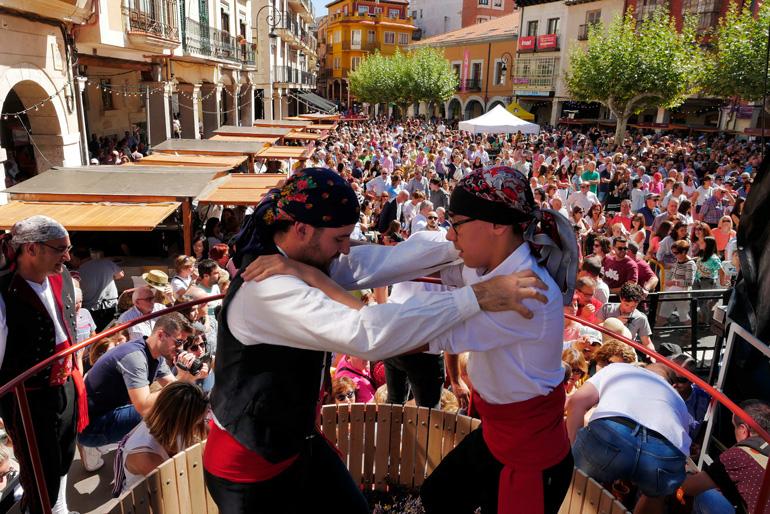 Gran fiesta de la vendimia en Aranda de Duero