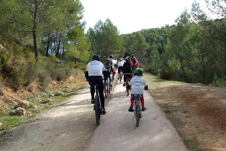 Alcoi ofrece multitud de servicios a los amantes de los deportes de la bicicleta