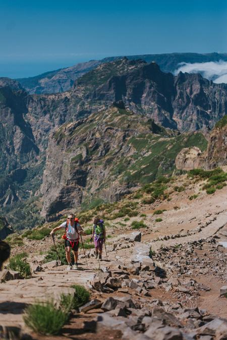 Trekking en Madeira © Tiago Sousa