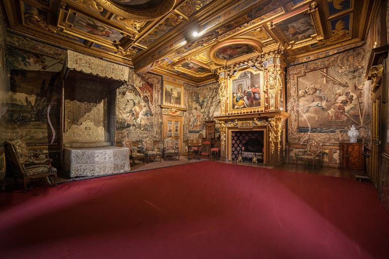 Habitación real del Castillo de Cheverny @digikode.com