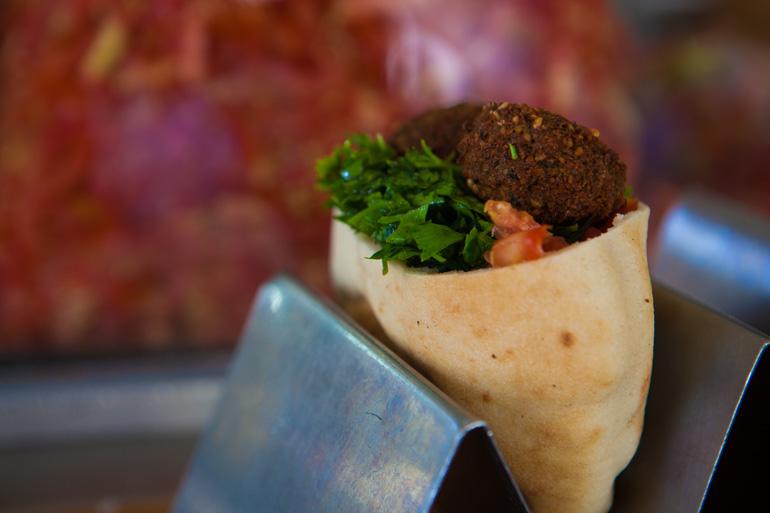 El falafel es uno de los entrantes más populares de Israel