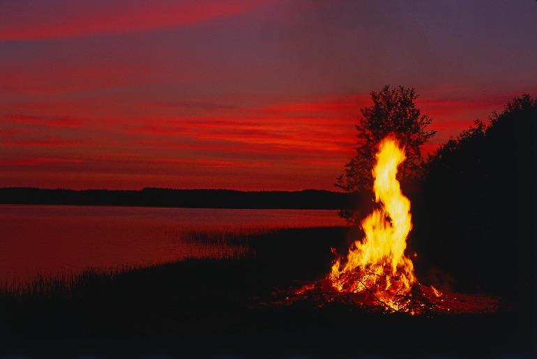 La verdad es que Finlandia regala imágenes preciosas en verano. ¡En fin! Tendremos que viajar a Finlandia.