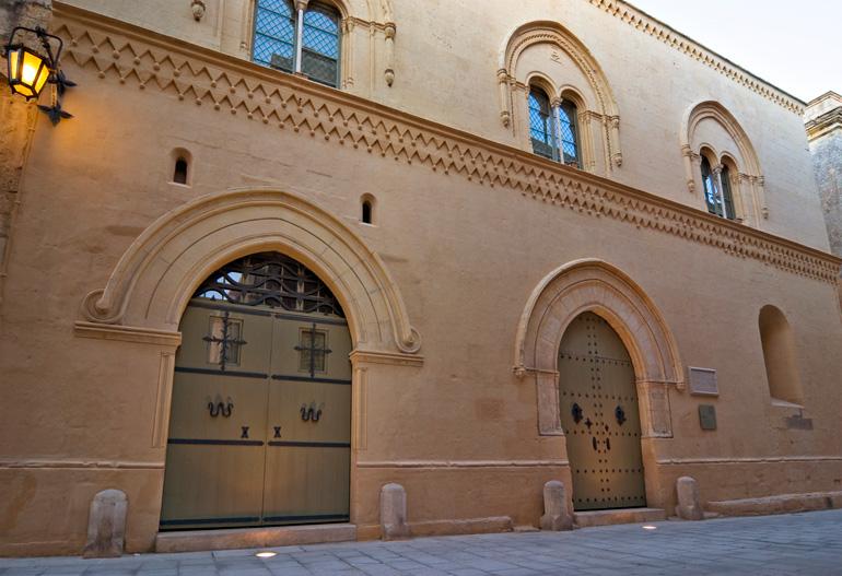 Palacio Falcon, en Mdina