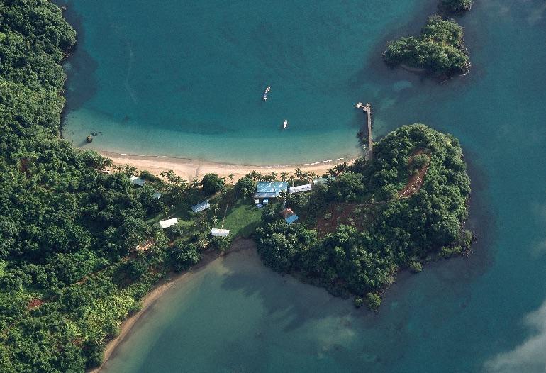 Parque Nacional de Isla Coíba, en Panamá