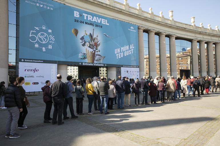 El pabellón 8 de Fira de Barcelona acoge B-Travel 2020