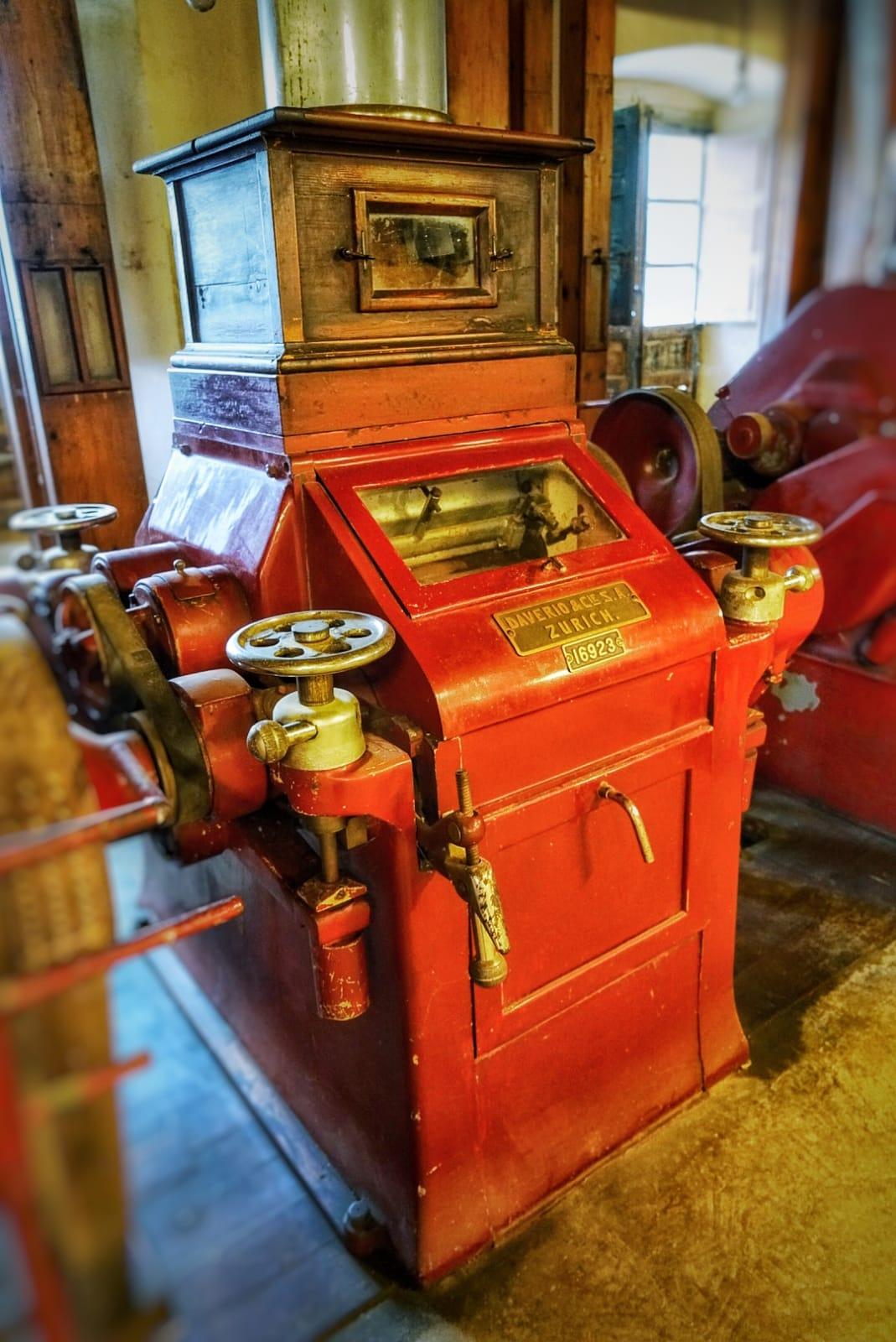 Maquinaria de la Fábrica de Harinas San Antonio