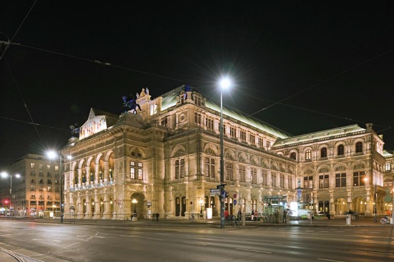 Ópera de Viena Fotógrafo: Viennaslide