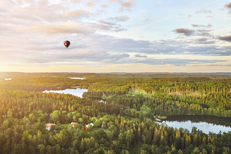 Vistas de Småland © Patrik Svedberg Visit Sweden