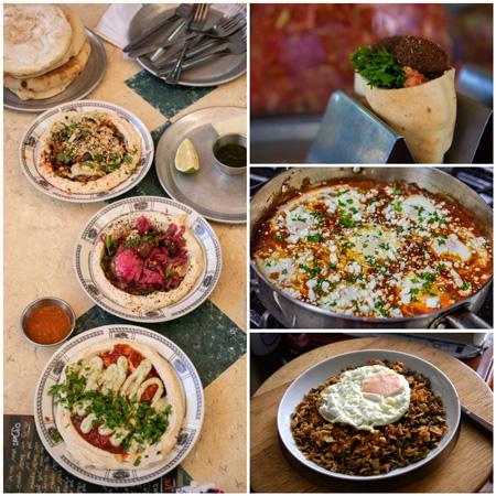 La gastronomía de Israel es una de las más deliciosas que he probado