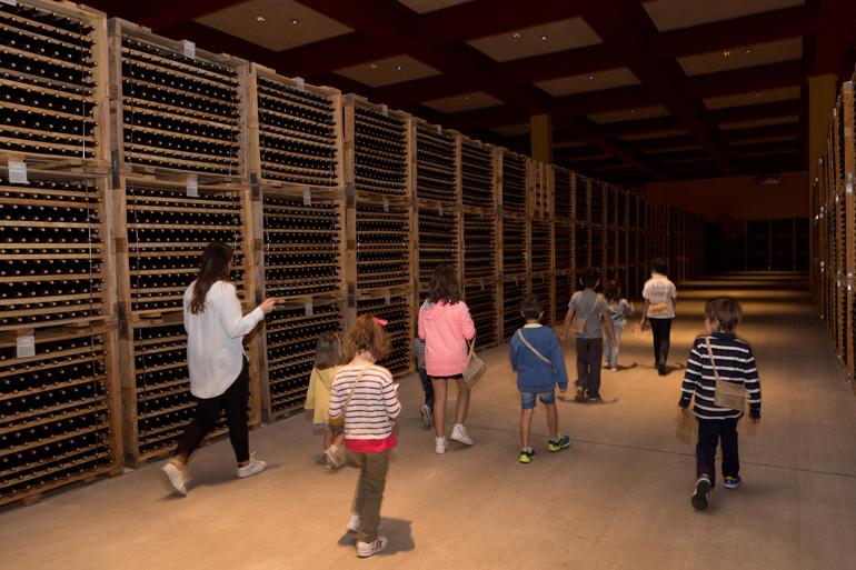 Las bodegas de la Rioja Alavesa ofrecen actividades para los más pequeños