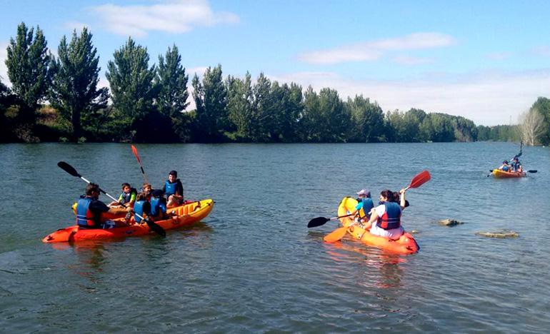 En la Rioja Alavesa también se realizan actividades al aire libre