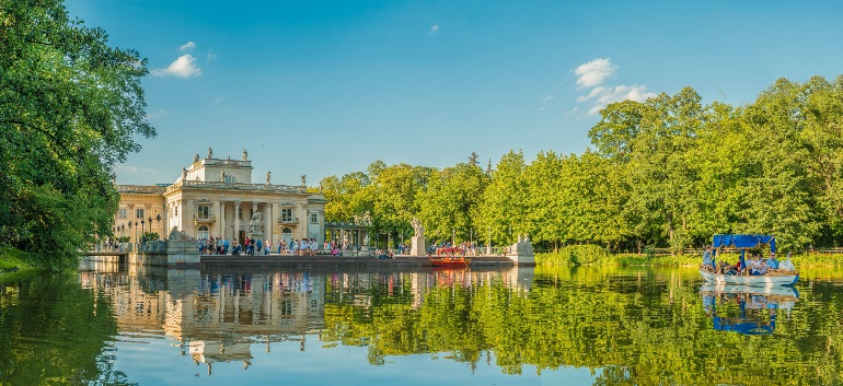 Parque Lazienki Oficina de Turismo de Polonia