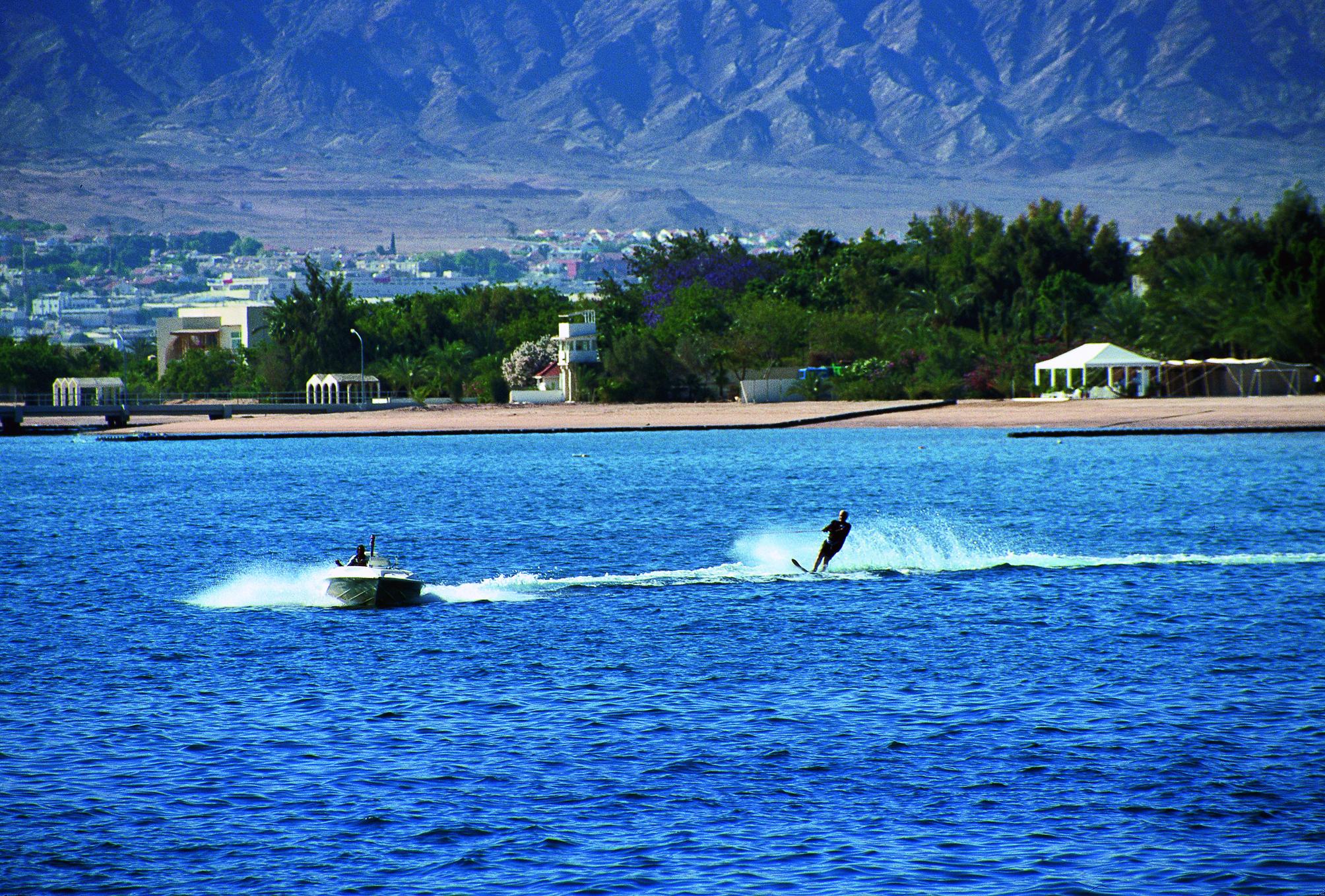 Esquí acuático en Aqaba