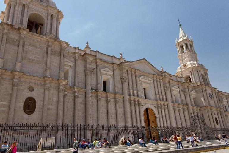 Catedral de la ciudad de Arequipa
