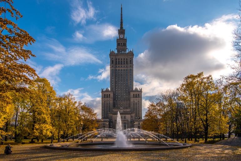 Palacio de la Cultura y de la Ciencia Warsaw Tourism