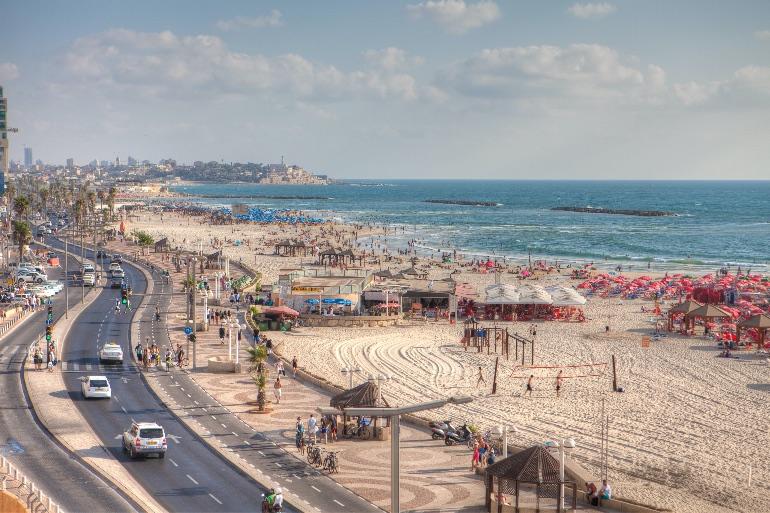 Playa de Tel Aviv © Dana Friedlander