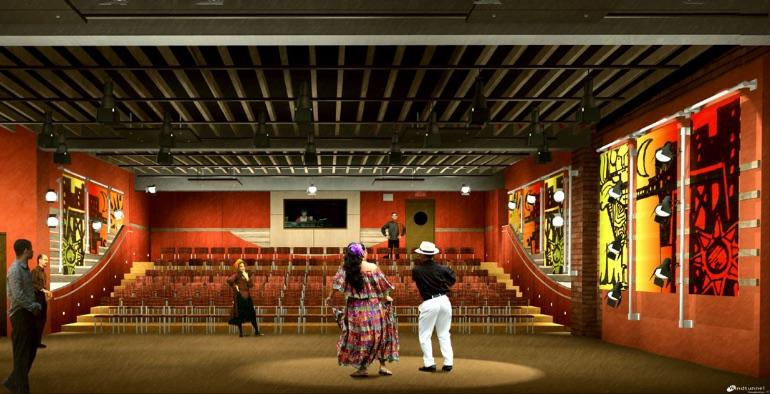 Interior del Teatro Pregones