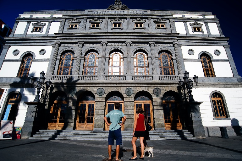 Teatro Perez Galdos en Las Palmas de Gran Canaria ©Juan Naharro Gimenez