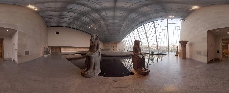 El proyecto Met 360º del Museo Metropolitano de Arte es una auténtica maravilla
