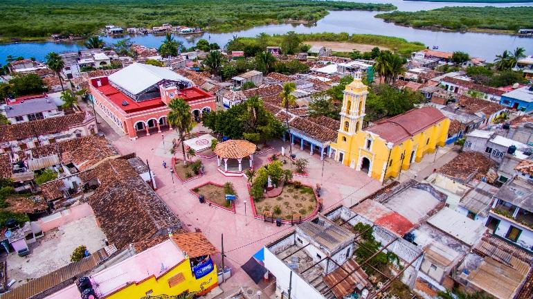 Calles de Mexcaltitán