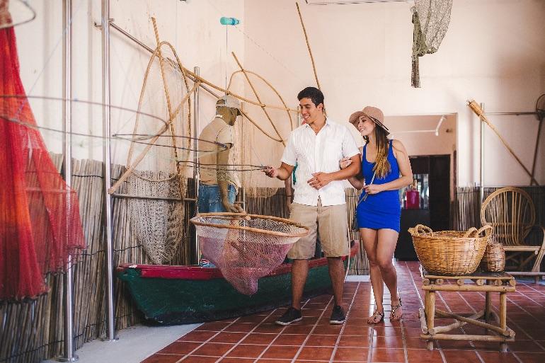 La pesca es la actividad mayoritaria en Mexcaltitán
