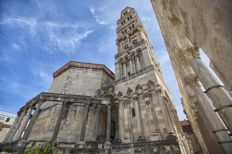 Vista del Palacio de Diocleciano © Ivo Biocina
